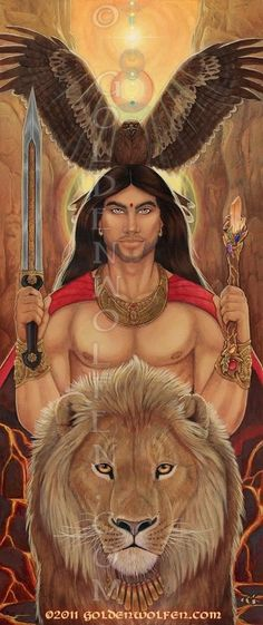 "Spirit Totem Animals:  #Spirit #Totem #Animals ~ ""Masculine Divine,"" by Christy Grandjean."