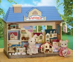 TOYCEPTION!!!!! Yeah...my Calico Critters totally need to play with Sylvanian Families...wait wha...?
