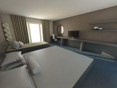 Hotel room visual