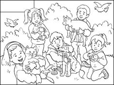Huisdieren - ruimtebegrippen (middelste, vooraan, achteraan, naast) Coloring For Kids, Adult Coloring, Coloring Pages, Weather Vocabulary, Class Pet, 4 Kids, Preschool Crafts, Pet Care, Kindergarten