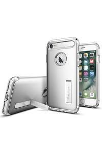 The Slim Armor® case for iPhone provides complete all-around protection while maintaining a slim profile. The dual layered build of flexible TPU and hard polycarbonate come with protective features such as Air Cushion® corners and an interior spider-web pattern.