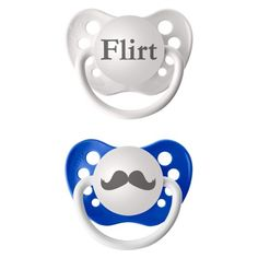 Adult humored baby items - pacifiers #babyregistry