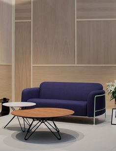 Mega sofa & Tio tables by Massproductions.