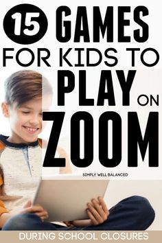 The best games for kids to play with friends and family on Zoom, Facetime or Skype. These games are a great way for kids to connect with their friends during school closures or breaks. Learning Resources, Learning Activities, End Of Year Activities, Painting Activities, Sports Activities, Family Activities, Games To Play With Kids, Simple Games For Kids, Kids Fun