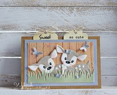 Cards made by Wybrich: Eline's Deer
