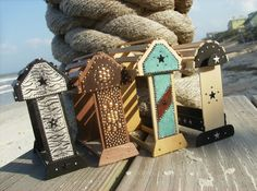 Model Horse Tack Stands. $10.00, via Etsy. ...I want a real saddle rack that looks like one of these!!!