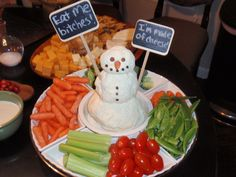 """Cheeseball Snowman Says """"Bite Me"""": Quick and Delicious Holiday ..."""