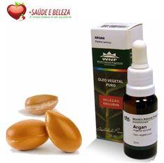 Óleo Vegetal Seleção Exclusiva Argan WNF é 100% puro e natural, obtido através da prensagem das sementes do fruto da Argania spinosa, planta originária do Marrocos.  Excelente para cabelos quebradiços e com químicas diversas. Promove a hidratação e regeneração celular, devido a grande concentração de ácido oleico e linoleico.  http://www.maissaudeebeleza.com.br/p/356/oleo-vegetal-de-argan-c20-ml?utm_source=pinterest&utm_medium=link&utm_campaign=Oleo+de+Argan&utm_content=post