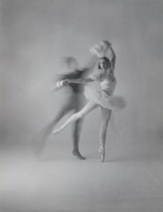 Fredric Franklin and Alexandra Danilova of the Ballet Russes captured by photographer Irving Penn