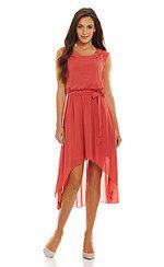 Hi-Lo Coral Dress #dreamdress #thedressspot