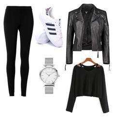 """""""Automn #9 🍂"""" by lenaleblanc on Polyvore featuring mode, Max Studio, Boohoo et adidas"""