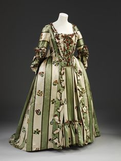 Evening Gown | c. 1770-79