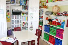 Cool speech therapy room. Repinned by SOS Inc. Resources. Follow all our boards at http://pinterest.com/sostherapy for therapy resources.