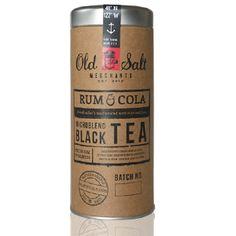 Tea...that tastes like rum and coke...ummm..yes please :)