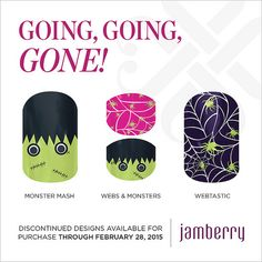 """Discontinued wraps available for purchase through February 28, 2015!! """"Monster Mash"""" """"Jr Webs & Monsters"""" & """"Webtastic"""""""