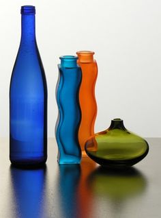 How to Dye the Inside of a Glass Bottle