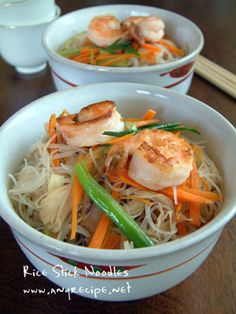 How to make Rice Stick Noodles, Chinese Rice Stick Noodle recipe