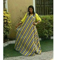 Ankara gowns can make you look good. Here are some lovely ankara gowns that can make you look good for your occasions. African Maxi Dresses, Ankara Dress Styles, Latest African Fashion Dresses, African Dresses For Women, African Print Fashion, Africa Fashion, African Attire, African Wear, African Style