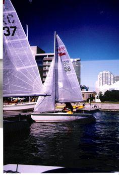 Queen's Quay Disabled Sailing Program, Toronto, ON--the flagship program of Disabled Sailing Association Ontario Mobility Aids, Wooden Boats, Ontario, Toronto, Sailing, Ocean, Water, Travel, Life