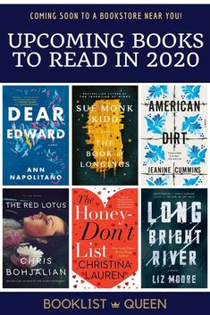 Take a look ahead at all the upcoming book releases this year. Find out what the most-anticipated upcoming book releases are in the coming months. Page continually updates with new book release throug Books To Read For Women, Best Books To Read, I Love Books, New Books, Good Books, Book Club Books, Book Nerd, Book Lists, The Book