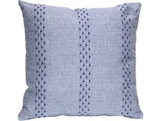 BLUE DUNE STRIPE CUSHION - (RRP £21) Our Price from £15