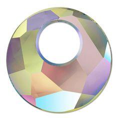 Swarovski Victory Pendant 6041 18mm Crystal Paradise Shine