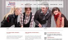 Alumni web page