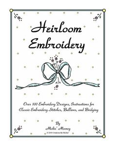 Heirloom Embroidery Front Cover