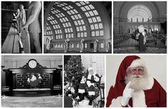 Vintage photos of Santa touring Washington, D.C.