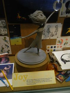 """Concept Art Exhibit for PIXAR's """"Inside Out"""" (March 26, 2015) Via WDW News Today"""