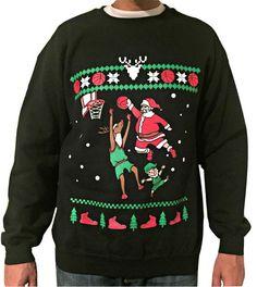 TooLoud Candy Cane Heart Christmas Hoodie Sweatshirt