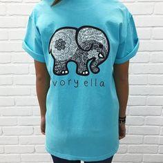 Newest Ivory Ella T-shirt Womens Clothing – awashdress