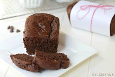 Chocolate Zucchini Bread | Feel Great in 8 - Healthy Real Food Recipes