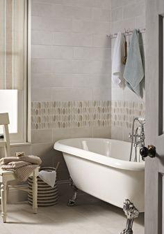 Laura Ashley Coastal Natural, White, and Wallace Decor tiles from House of British Ceramic Tile http://www.britishceramictile.com/tile-finder/?filter_collection=482&filtering=1&filter_range=503