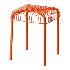 VÄSTERÖN Stool, in/outdoor IKEA Can be stacked, which helps you save space. Can also be used in bathrooms and other damp areas indoors.