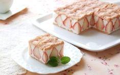 楽天が運営する楽天レシピ。ユーザーさんが投稿した「苺とホワイトチョコのスクエアケーキ【No.184】」のレシピページです。※セルクル角150mm 1台分甘酸っぱい苺パウダー入りのスポンジで、ホワイトチョコのムースとみずみずしい苺を挟んだケーキです。。苺とホワイトチョコのスクエアケーキ。■スポンジ生地,卵,砂糖,薄力粉,フリーズドライ苺パウダー,■ホワイトチョコムース,牛乳,ホワイトチョコ,板ゼラチン,卵白