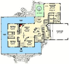 Classic Farmhouse Plan - 81331W | 1st Floor Master Suite, CAD Available, Corner Lot, Country, Farmhouse, MBR Sitting Area, PDF, Split Bedrooms, Wrap Around Porch | Architectural Designs