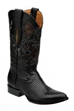 Cuadra Herren Western- Cowboystiefel (Echsenleder) 2C01LT