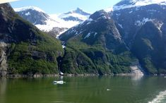 Tracy arm fjord, Alaska from balcony of Celebrity Solstice.  Simply stunning!