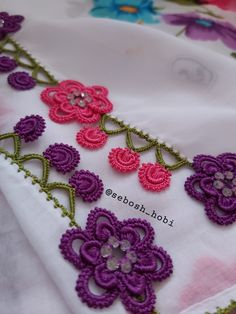 Embroidery On Clothes, Hand Embroidery, Saree Tassels Designs, Needle Lace, My Design, Crochet Earrings, Hair Accessories, Make It Yourself, Diapers