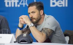 Tom Hardy shuts down reporter who questions his sexuality