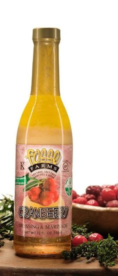 Our #cranberry dressing. One of our most popular! #organic #GF