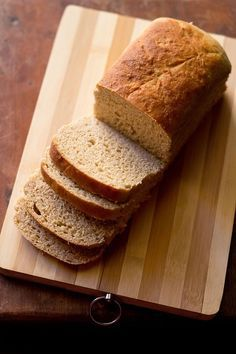 100% whole wheat bread or atta bread recipe with step by step pics - a recipe to give you a really good bread with the ingredients you have at home.