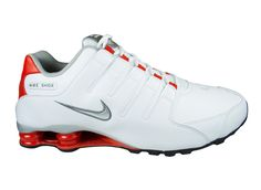 5909a41185c ... discount code for details about classic mens nike shox nz leather  running shoes trainers white challenge