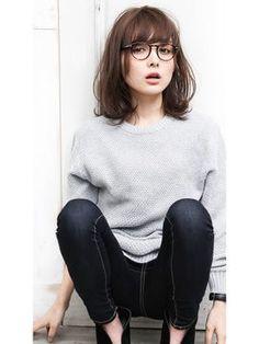 【アンニュイ×ロブ】Ryota - 24時間いつでもWEB予約OK!ヘアスタイル10万点以上掲載!お気に入りの髪型、人気のヘアスタイルを探すならKirei Style[キレイスタイル]で。