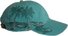 94010a00321  18-Adams Cotton Twill Resort Palm Trees - Lime at Amazon Men s Clothing  store  Baseball Caps