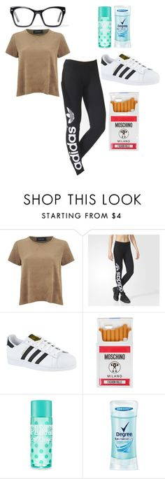 """""""//My Style// -73-"""" by ashyrosepetal on Polyvore featuring MINKPINK, adidas, Moschino, Degree and Spitfire"""