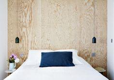 Hotel Henriette – Paris Hotel – From per night Plywood Interior, Plywood Walls, Plywood Headboard Diy, Plywood Furniture, Modern Furniture, Furniture Design, Hotel Henriette Paris, Paris Decor, Paris Hotels