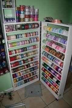Ribbon Storage ..id be in heaven!