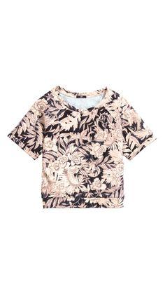 a91b80bd0643 Soft shade h&m top Korta Toppar, Linne Byxor, T Shirts, Tejidos, Kvinnor
